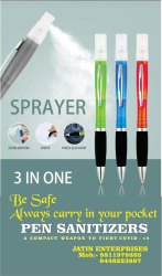 Hand Sanitizer Spray Pen