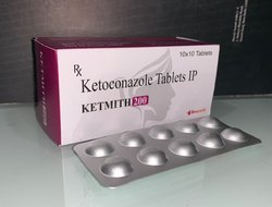 Ketmith Ketoconazole 200mg Tablet, Packaging Size: 10*10 Alu Alu, Packaging Type: 10*10