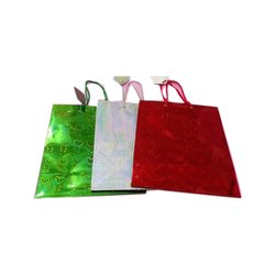 Printed Rope Handle Designer Handmade Paper Bag, for Packaging, Capacity: 1kg