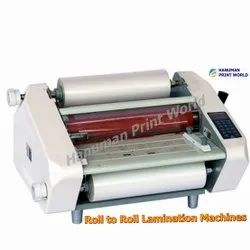 Thermal Roll To Roll Lamination Machines