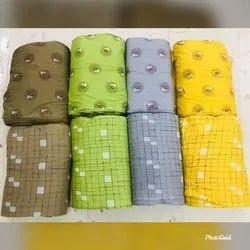 140 gsm Printed Rayon Kurti Fabric
