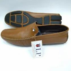Black Sole Genuine Leather Loafers