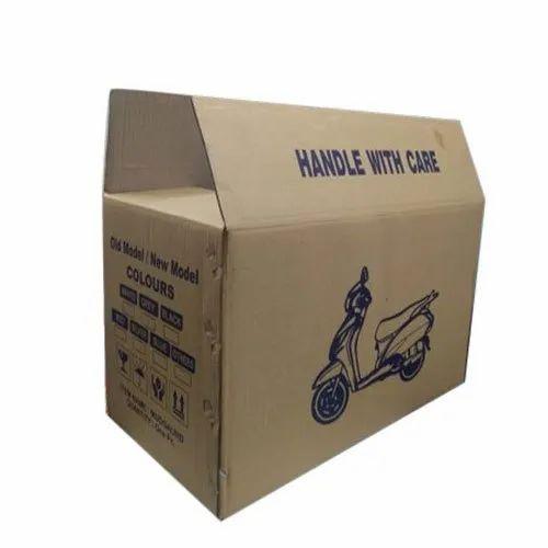 Corrugated Paper Sheets Mudguard Packaging Box