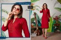 Samairaa Vol-2 Beautiful Plain Rayon With Hand Work Fancy Kurtis