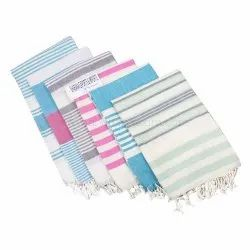 Cotton Fabric Pestemal Fouta Towel Microfiber Fouta Terry Towel