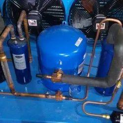 Mild Steel Danfoss Cold Room Condensing Unit, 380-415 V