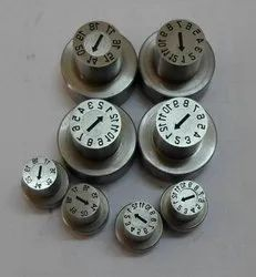 Metal Date Punches