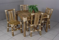 Indoor Bamboo Dining Table for Home
