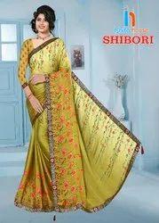 Shibori Print Saree