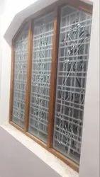 Designer Window Glass, Thickness: 3-13 Mm