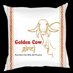 Golden Cow Girej (A2) Pure Indian Desi Gir Cow A2 Milk