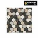 Orientbell Pav Hexo Grey Car Parking Tiles, Size: 300x300 Mm