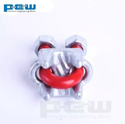 STEEL WIRE ROPE CLAMP, For Industrial, Size: 6mm To 120mm