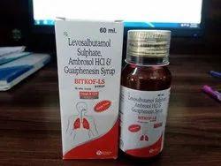 Bitkof LS 60 mL(Levosalbutamolambroxol Guaiphenesin Syrup)