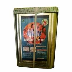 Garv Refined Palm Oil, Packaging Type: Tin, Packaging Size: 15 Litre