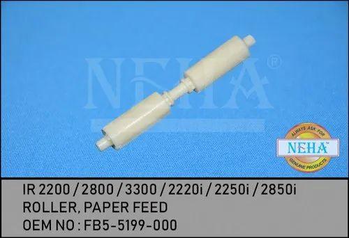 Ir 2200 / 2800 / 3300 / 2220i / 2250i / 2850i Roller , Paper Feed OEM NO : FB5-5199-000