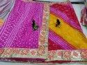 Multi Colour Bandhani Saree