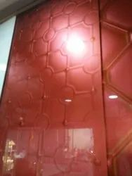 Lacquered Design Glass