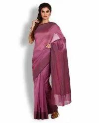 Wine Banarasi Dupion Silk Hand Woven Saree (Product No 793)