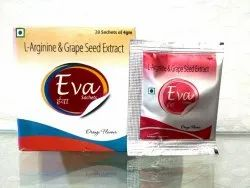 L-Arginine& Grape Seed Extract ( Eva Sachet )