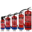Carbon Steel Fire Extinguisher Bc Type Stored Pressure, Capacity: 2kg