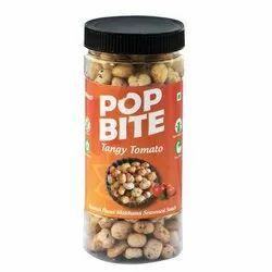 Pop Bite Tangy Tomato Makhana, Packaging Type: Plastic Jar