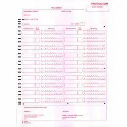 OMR Foil Sheet Printing Service
