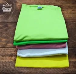 Generic Polyester Multi Colors Micro PP T-Shirt, Age Group: 10-70
