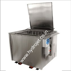 Ultrasonic cleaning multistage system