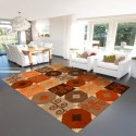Hand Tufted Jute Carpet, Size: 5x8 Feet