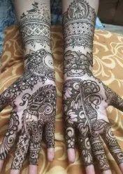 Women Indo Arabic Mehandi Design Service, Indore