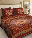 Barmeri Print Cotton Bed Sheets (Jaipuri)