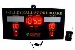 Volleyball Scoreboard, Shape: Rectangle