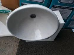 Small Hand Washes Sink