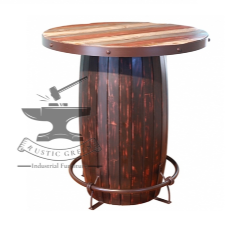 Awesome Wine Barrel Bar Table Download Free Architecture Designs Scobabritishbridgeorg
