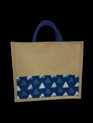 Rubis Bags Natural Jute Printed Fabric Bag for Shopping, Capacity: 3 - 4 kg