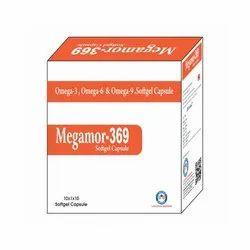 Omega 3 Omega 6 and Omega 9 Softgel Capsule