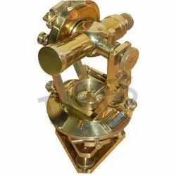 Nautical Brass Made Theodolite With Magnetic Compass, Packaging Type: Corrugated Box, As Item