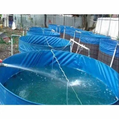 PVC Fish Farming Tarpaulin Tank
