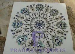 Makrana Marble Inlay Flooring Design