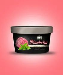 Strawberry Ice Cream, Packaging Size: 4 Litter, Packaging Type: Box