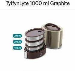 Tyffynlyte Graphite 1000ml Lunch Box