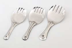 Own Silver Steel Rice Serving Spoon