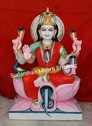 Marble Mansha Devi Statue