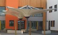 Inverted Umbrella Tensile Structures