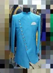 Plain Designer Sherwani