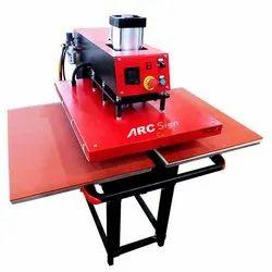 Pneumatic Flat Press Machine 15/15 With Air Compressor