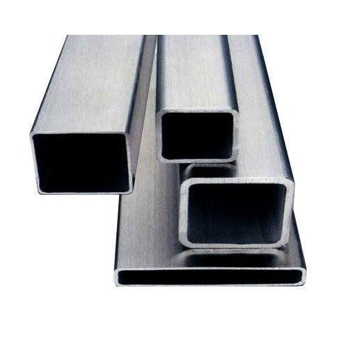 Stainless Steel Square Pipe, Size: 1 inch