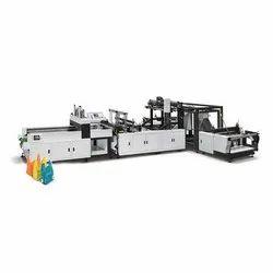 W Cut Handle Bag Making Machine, Capacity: 80 pieces/Hour, 220V
