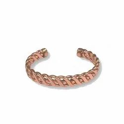 copper twisted bracelet kadda